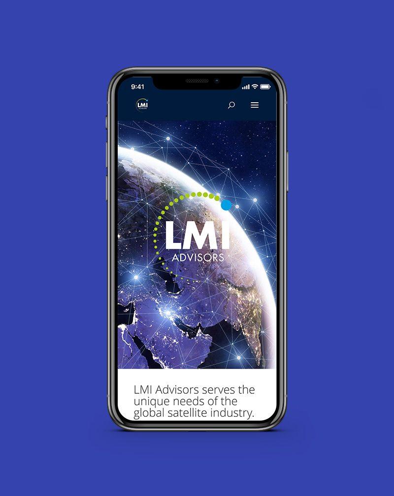 LMI Advisors Screenshot using web development and seo by ask the egghead