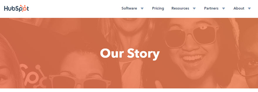 Storytelling in Marketing with HubSpot's About Page