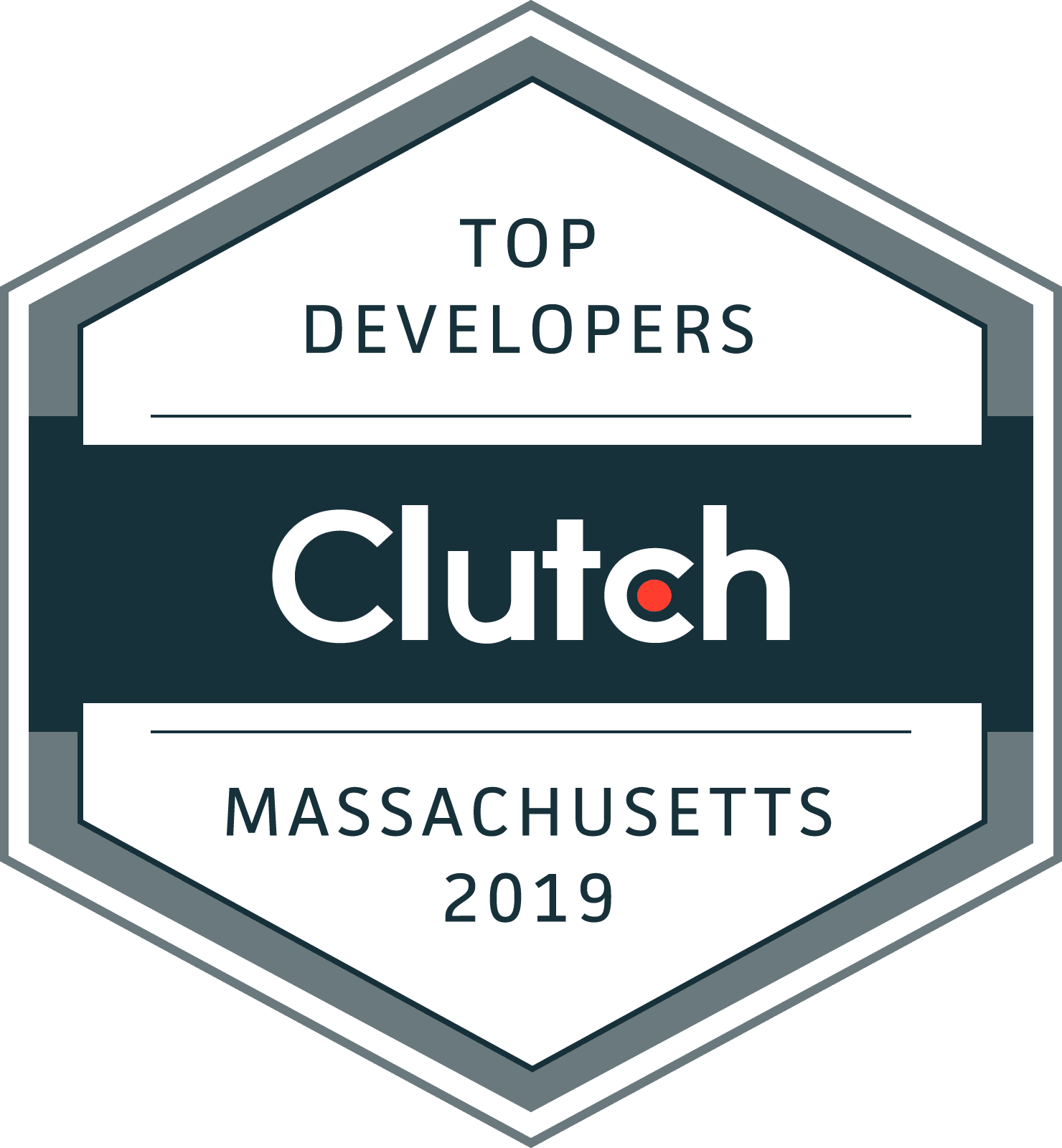 Clutch.co Award Badge