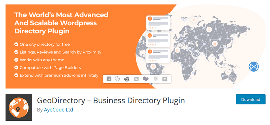 How to Create a Business Directory Using WordPress and GeoDirectory