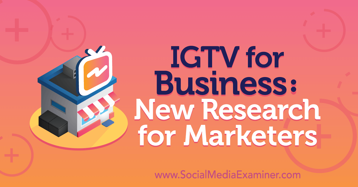 IGTV for Business: New Research for Marketers