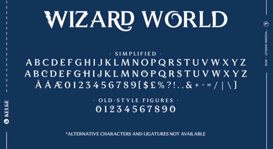Photo of Harry Potter Fonts