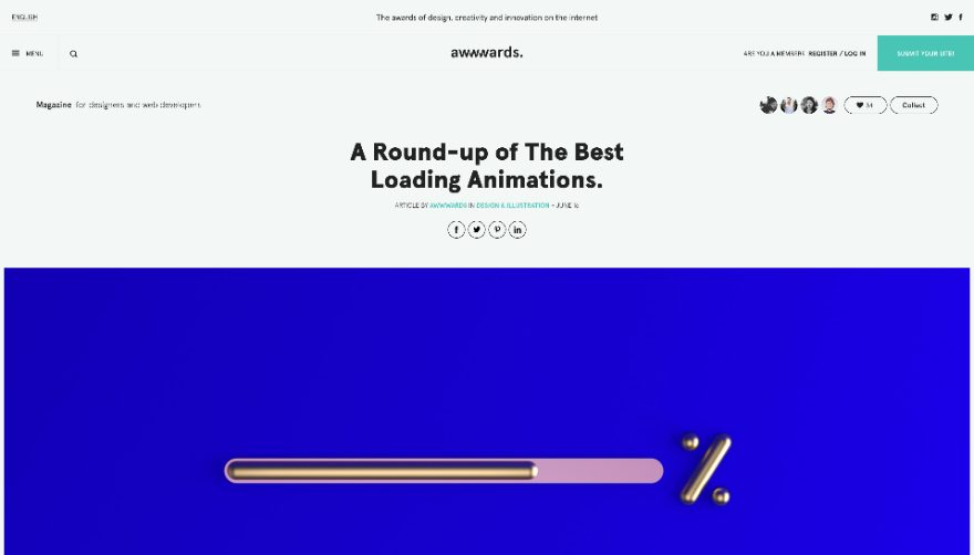 Add a Loading Animation to your WordPress Website (10 Different Options)