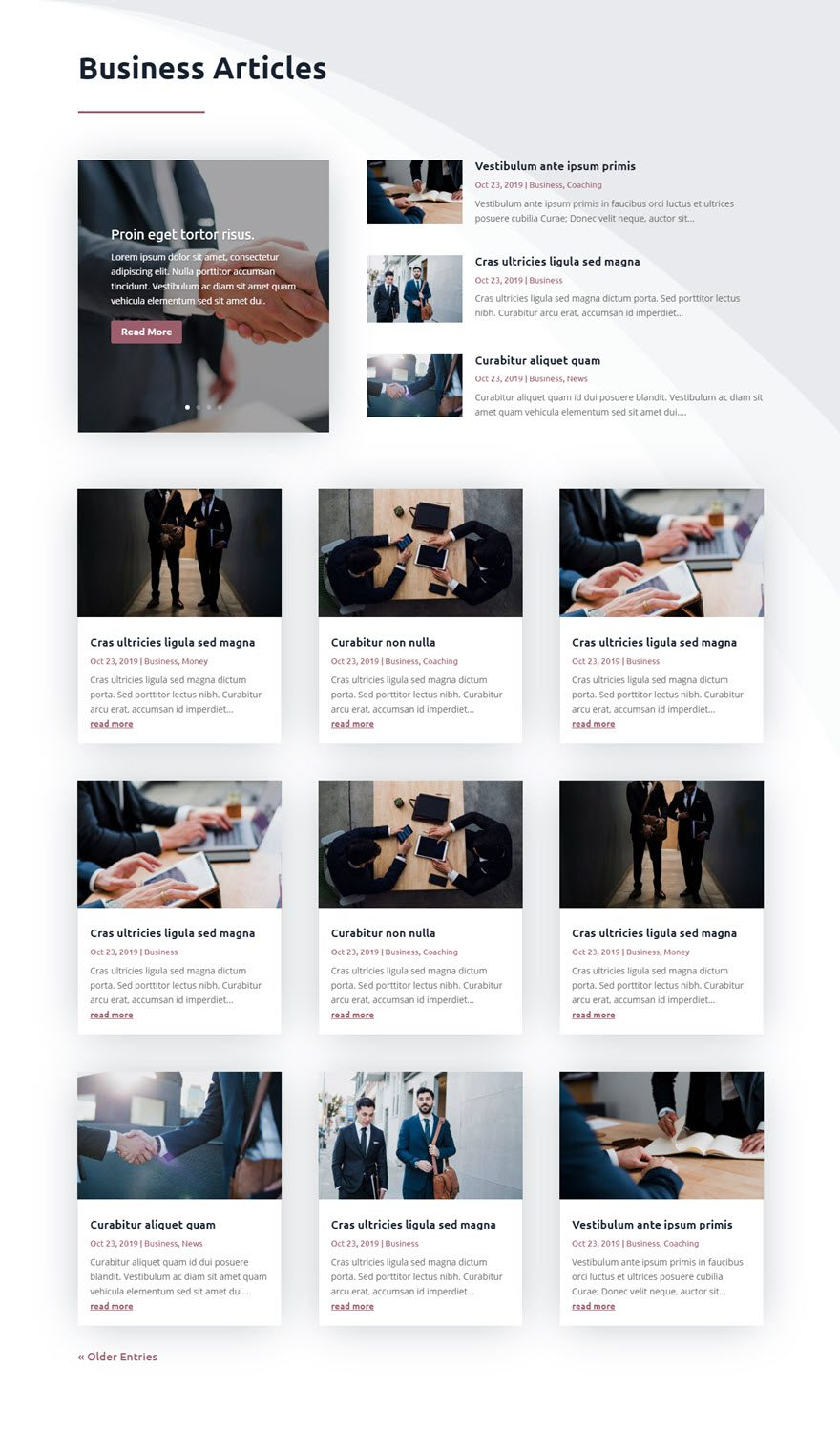 How to Create a Category Page Template for your Blog Using the Divi Theme Builder