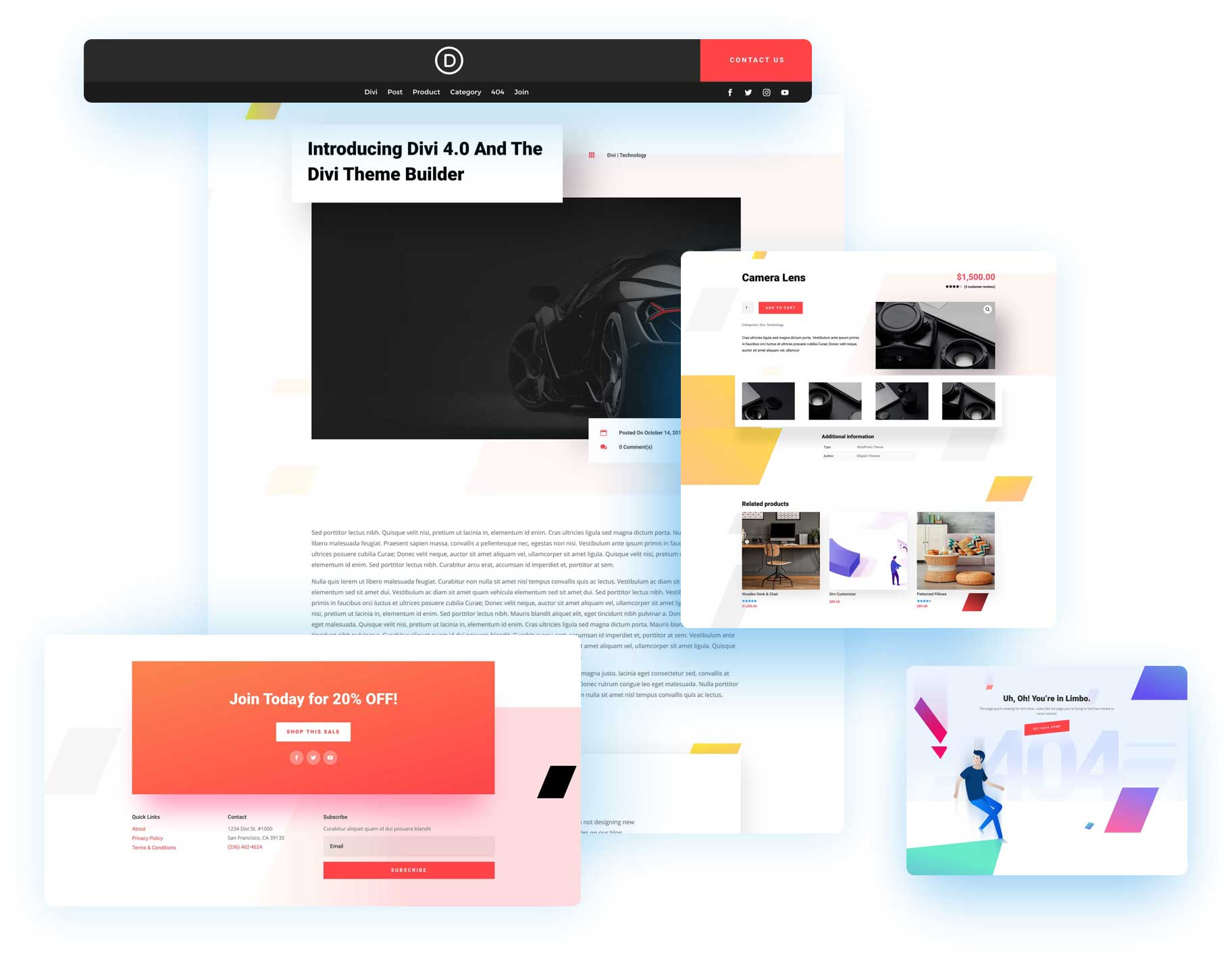 Download the Fourth Free Theme Builder Pack for Divi