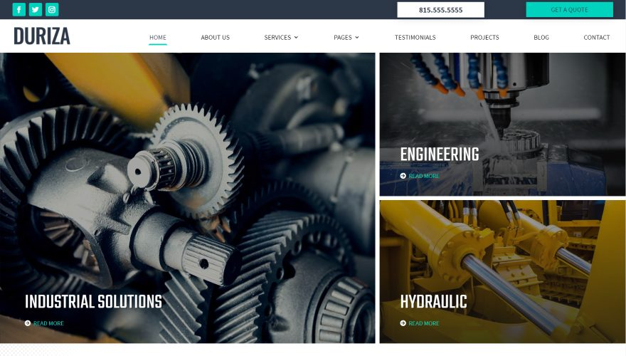 13 Industrial Child Themes for Divi