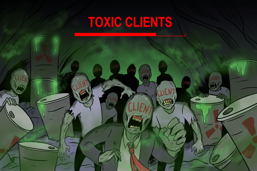 5 Ways Toxic Clients Kill Productivity and Steal Your Time