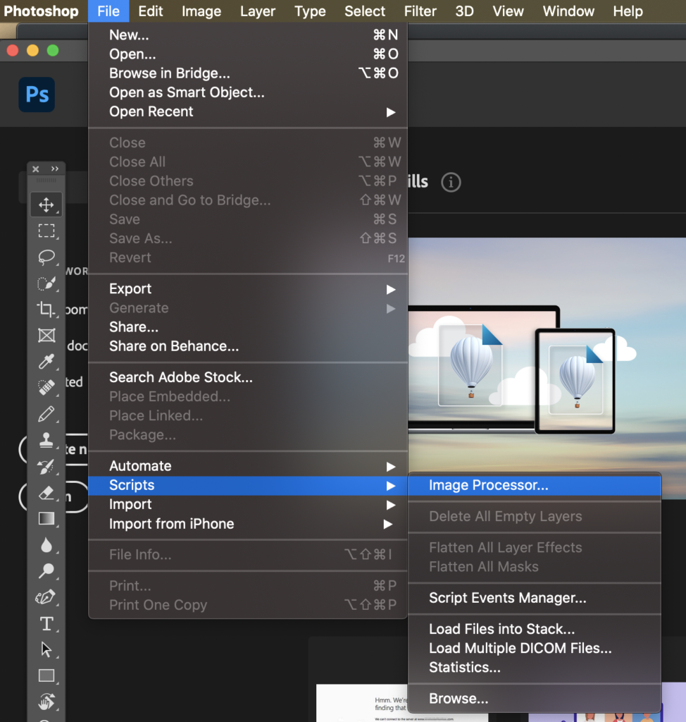 How to Bulk Resize Images In Photoshop