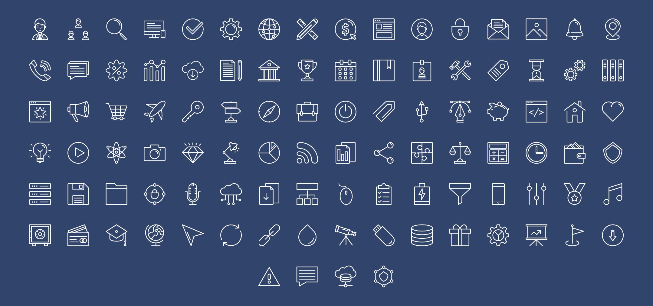 ThemeIsle free icons pack.
