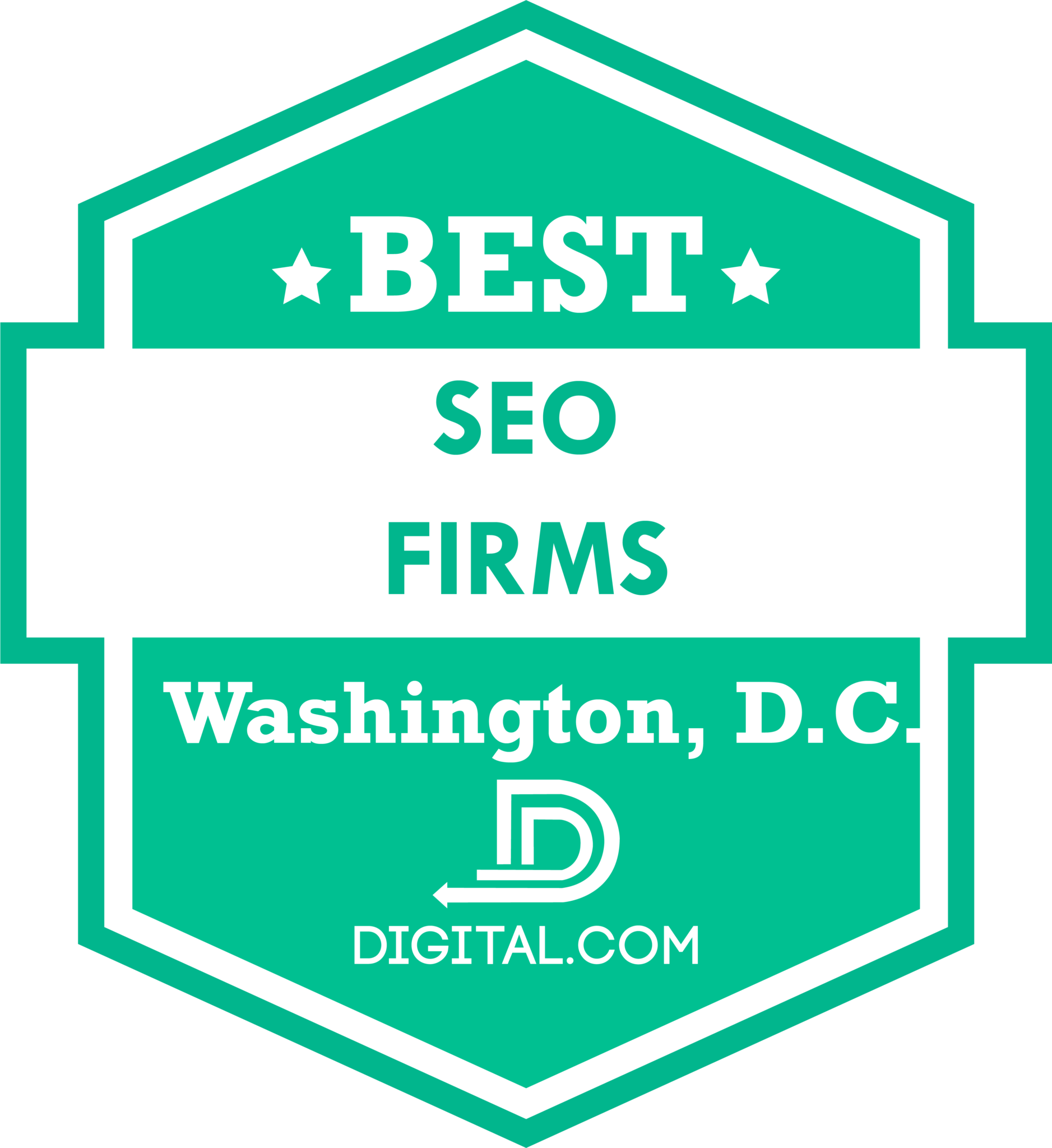 Ask the Egghead, Inc. Named Best SEO Firm in Washington DC by Digital.com