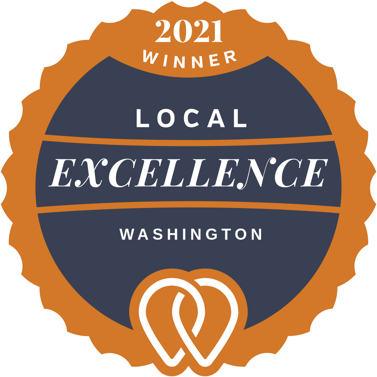 UpCity Award Badge Top Web Developer Washington DC 2021