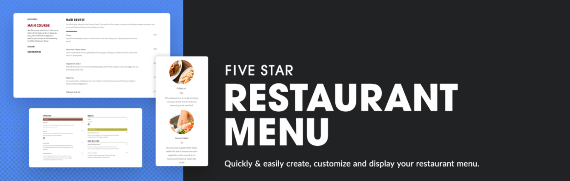 7 Best WordPress Restaurant Menu Plugins