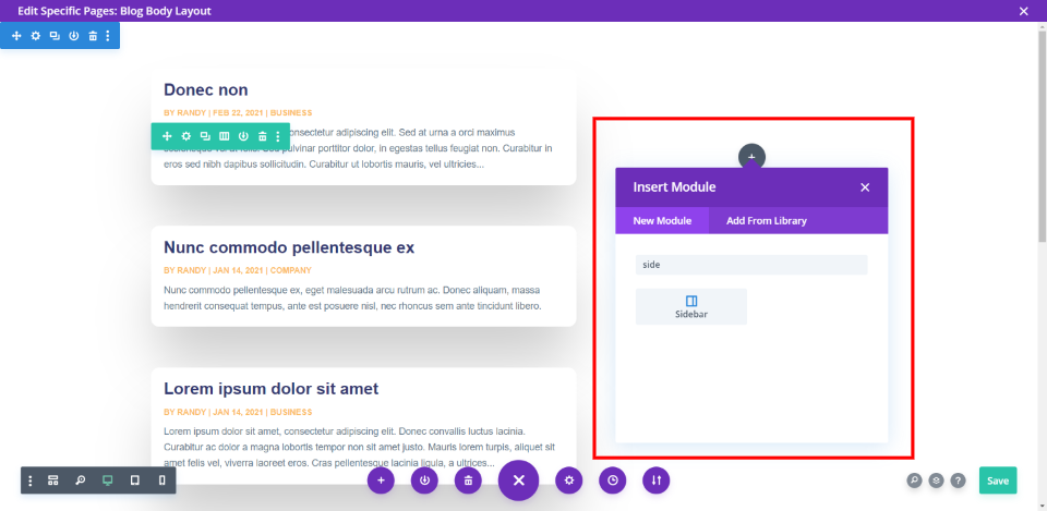How to Remove the Divi Sidebar Border