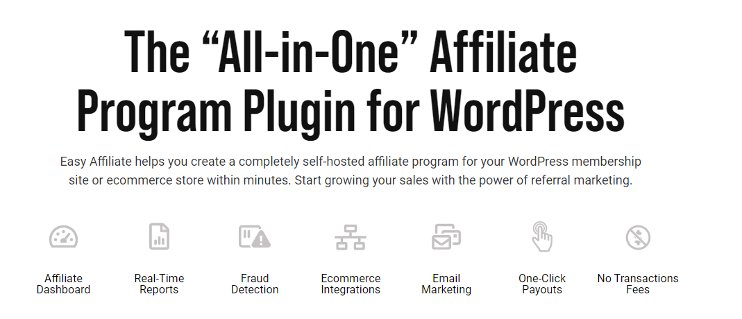 Easy Affiliate – WordPress Affiliate Plugin: An Overview and Review