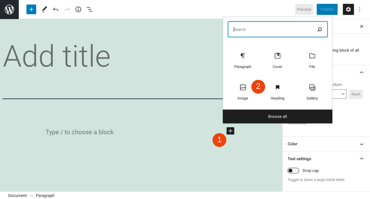 How to Use the WordPress Image Block