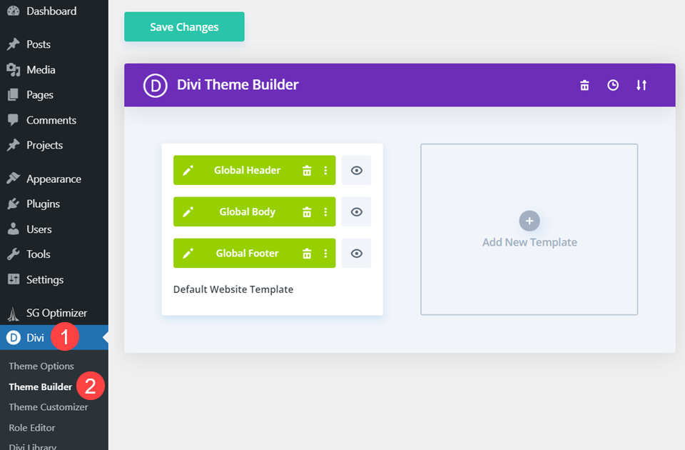 How to Exclude Pages/Posts from Templates in the Divi Theme Builder