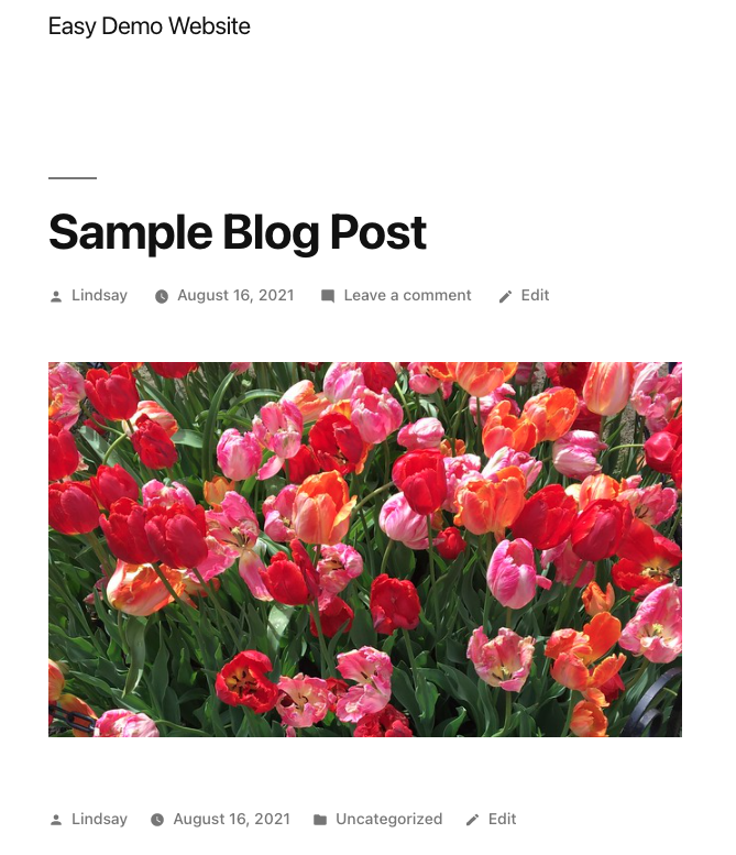 How to Use the WordPress Flickr Embed Block
